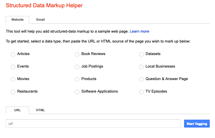 What is Structured Data Example SERP